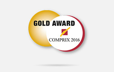 seca wins a Gold Award at Comprix