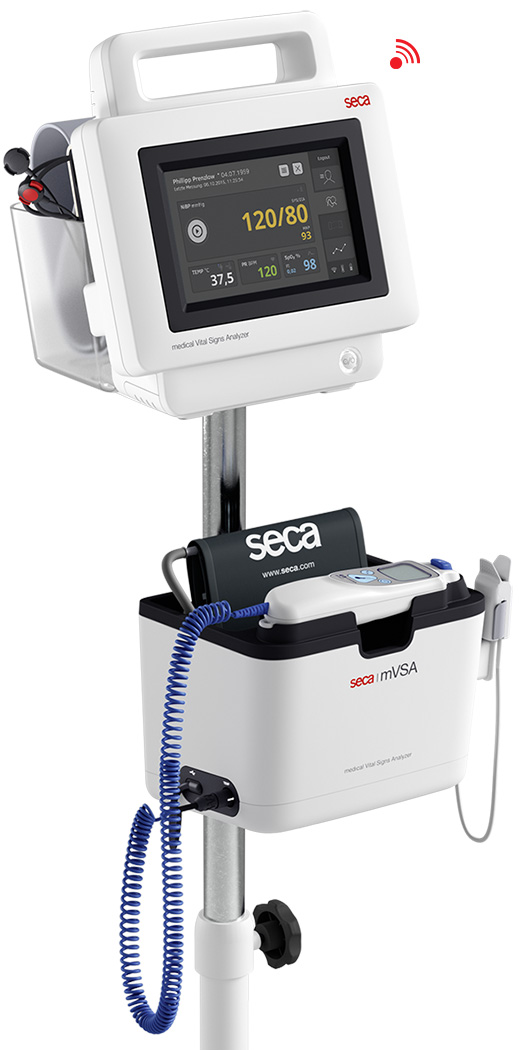 More knowledge more quickly. The new seca mVSA.